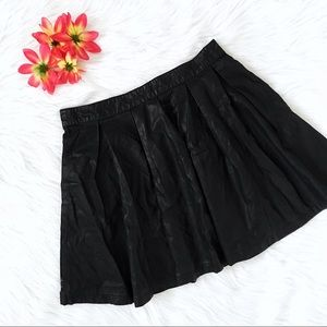 forever 21 exclusive faux leather skirt